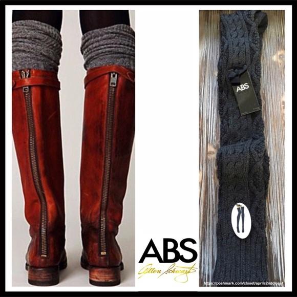 ABS by Allen Schwartz Abs By Allen Schwartz Black Stretch Jersey Long Sleeve Mesh Cutout